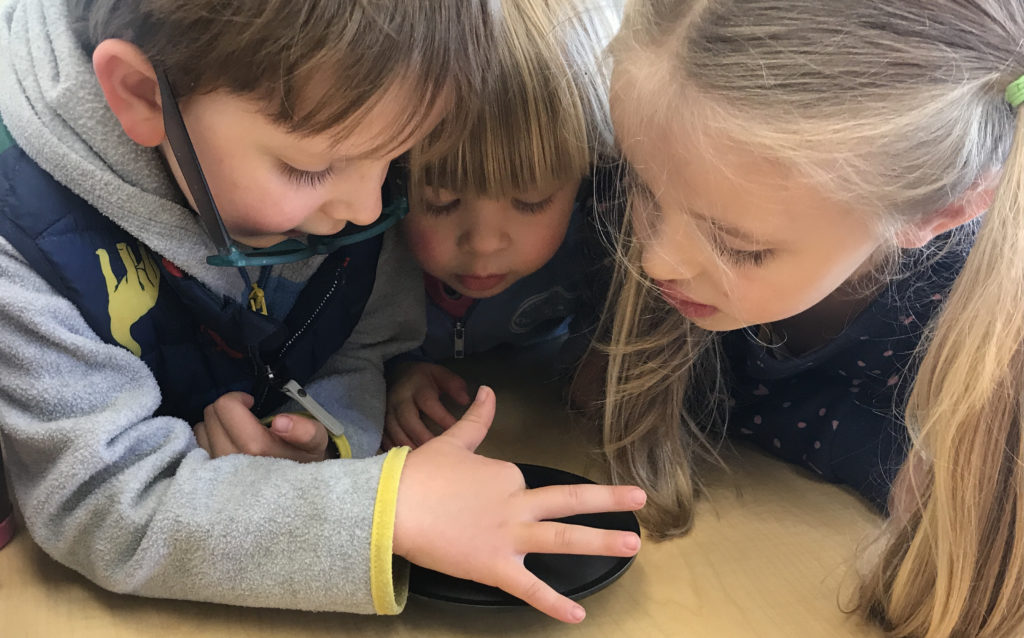 St. Tim's Preschool students